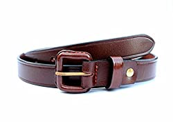 Tops 25mm Brown Leather Belt