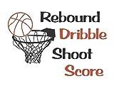 wandaufkleber sternenhimmel wandaufkleber kinderzimmer baum Rebound Dribble Shoot Score Für Jungen Zimmer
