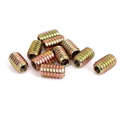 sourcingmapr-vite-a-testa-esagonale-m8-mobili-filettato-dado-10pcs-per-inserto-in-legno