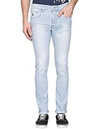 U.s. Polo Assn. Denim Mens Skinny Fit Mild Wash Jeans (regallo Fit)