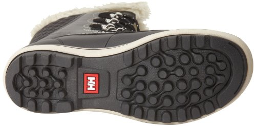 Helly Hansen - Stivali con caldo rivestimento interno, Donna Nero (Black/Natura/Feather)