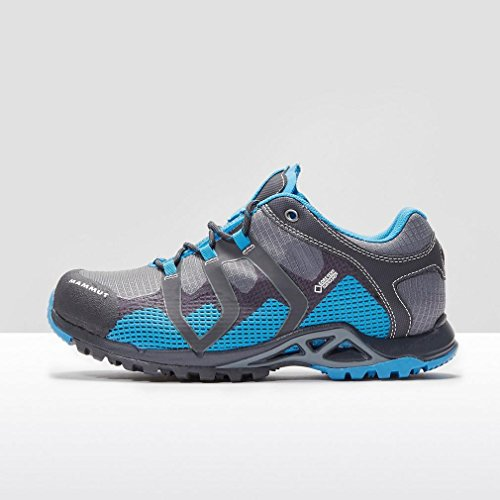 Mammut Comfort Low Gtx Surround, Scarpe da Escursionismo Uomo Grey/Blue