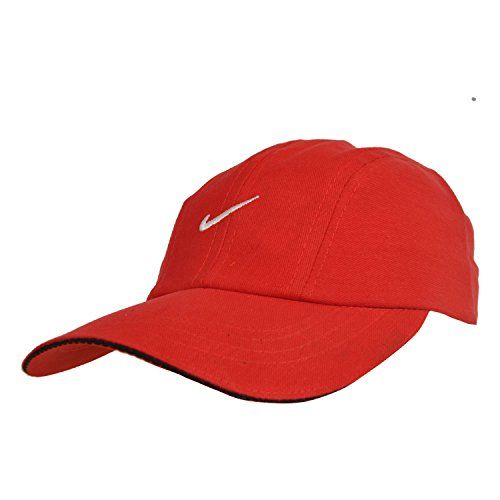 Kaarq New Red Denim Nike Sports Cap for Men  available at amazon for Rs.349