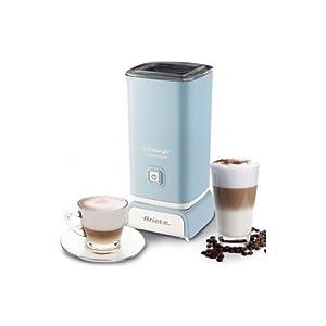 Ariete 2878 Cappuccinatore Vintage - Montalatte per cappuccino, tè, cioccolata calda e fredda, infusi liofilizzati, 500 watt, in colore Verde pastello