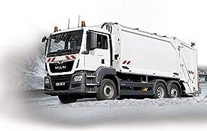 Revell Control- RC Mini Garbage Truck Juguetes a Control Remoto, Color Naranja (23486)