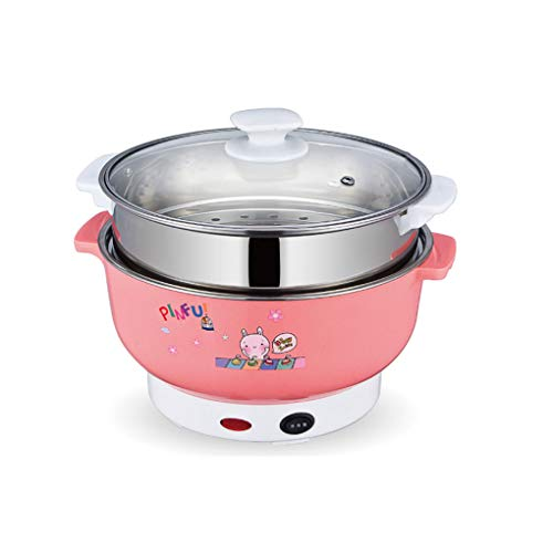 Beautiful Korean Style Electric Hot Pot Multifunctional No-smoke Non-stick Cooking Pot 5l Electric Wok Household Cooking Steamer Pan Fine Workmanship Home Appliances Electric Food Steamers