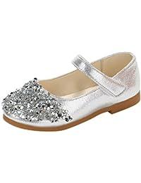 c0a56e9784 Amazon.co.uk: Silver - First Walking Shoes / Baby Girls: Shoes & Bags