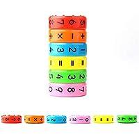 14e4fb2111b MUXItrade Gioco Matematica Bambino Magnetico Bambino Giocattolo Educativo a  Cubo 3D con 6 Lati per Primi