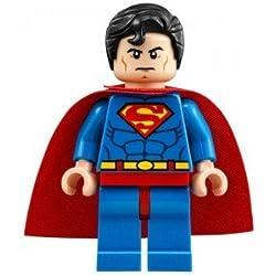 GENUINO Lego DC Superhéroes 2015 SUPERMAN Minifigura - separado de set 76040