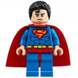 ORIGINAL Lego DC Superhelden 2015 SUPERMAN Minifigur - teilung von set 76040