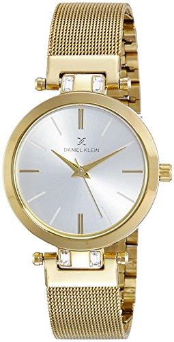 Daniel Klein Analog Gold Dial Women's Watch-DK10736-1 image