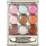 Technic 9 Pot Cream Eye Shimmer Eye Shadow Set 1