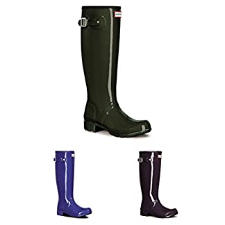Womens Hunter Original Tour Gloss Winter Snow Waterproof Wellies Boots 3