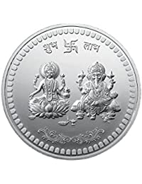 MMTC-PAMP India Pvt. Ltd. 10 gm, 999 Silver Laxmi Ganesh Precious Coin