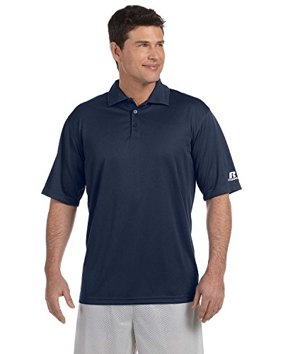 Russell Athletic Team Essential Polo 833 GHM Gr. Large, navy (Dri-power-polo)