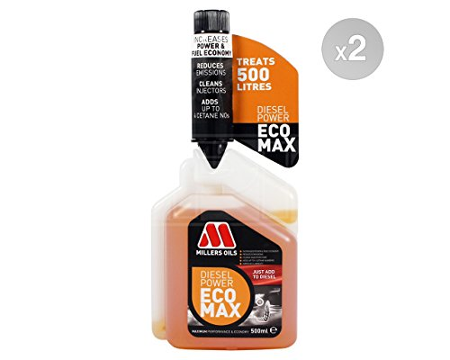 millers-oils-diesel-power-ecomax-fuel-treatment-2-x-500ml
