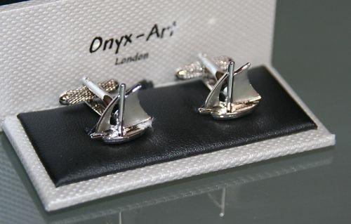 Herren Manschettenknöpfe–Yacht sailng Boot Design–NEUE - Neues Boot