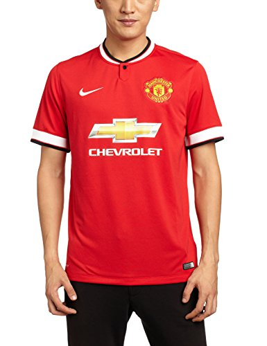 Nike Men's Manchester United Home Stadium Short Sleeve Jersey
