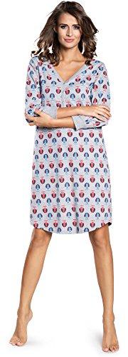 Italian Fashion IF Camisón para Mujer IF180018 (Melange, S)