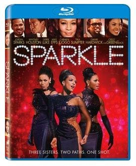 """Sparkle LIMITED EDITION 2 Disc SET Blu-ray DVD / BONUS DISC """"Inside The Music"""" With Jordin Sparks and Whitney Houston"""
