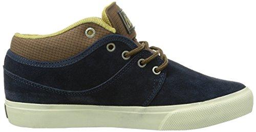 Globe Mahalo Mid, Chaussures de skateboard homme Bleu