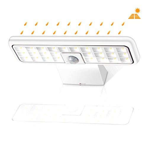 Solarleuchte 30 LED Solar Lampe mit Bewegungsmelder Gartenlicht Wandleuchte NEU