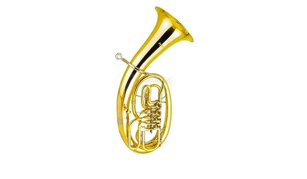 Neu Smart Symphonie Westerwald Top Goldmessing Tenorhorn Minibalgelenk Tenor Horn