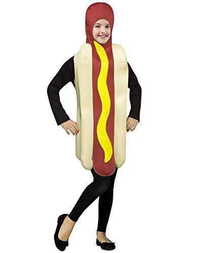 Hot Dog - Kinder-Kostüm - Alter 7 bis - Hot Dog Kostüm Kinder