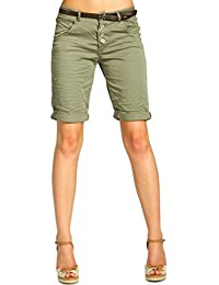 CASPAR BST005 Damen Baumwoll Chino Shorts