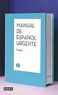 Manual de español urgente par Fundéu