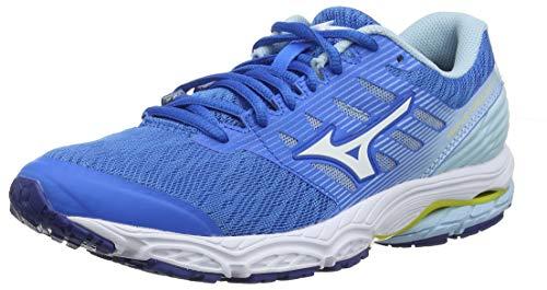 Mizuno Wave Prodigy 2, Scarpe Running Donna, Blu (Brilliant White/Cool Blue 20), 38 EU