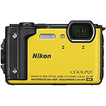 Nikon Coolpix W300 Compact Digital Camera - Yellow