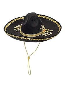 WIDMANN Srl Gorro sombrero lujo de fieltro 50cm Talla única para Adultos, y solideos polos, Multicolor, wdm68579