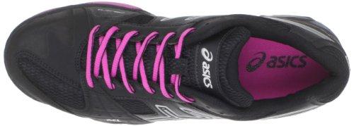 Asics Gel-Blackheath Cuir Baskets Black-Silver-Purple