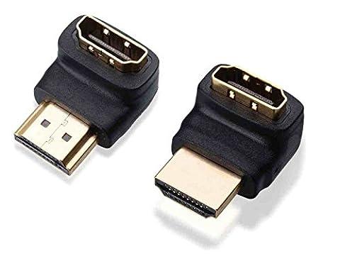 C63® PB4231 [TWIN PACK] 90 + 270 Degree HDMI Bend