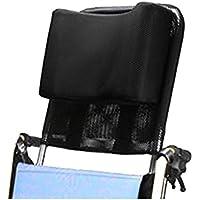 Rollstuhl-Kopfstütze, Nackenstütze, Kopfpolster, verstellbar und tragbar, für Erwachsene, 40,6-50,8 cm Rollstuhl-Kissen, Universalzubehör
