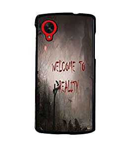 PrintDhaba Quote D-3188 Back Case Cover for LG GOOGLE NEXUS 5 (Multi-Coloured)