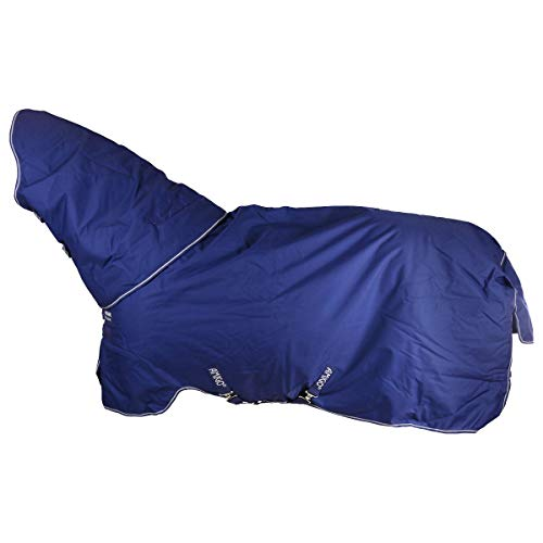 Horseware Amigo Hero 900 Pony Plus Turnout Medium 200g - Atlantic Blue/Ivory -