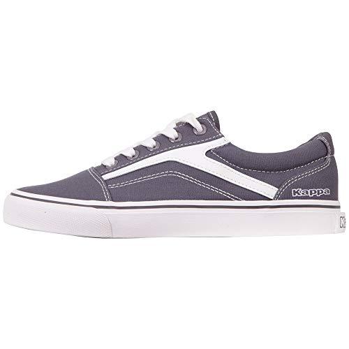 Kappa Unisex-Erwachsene Chose Sun Sneaker, Grau (Grey/White 1610), 36 EU