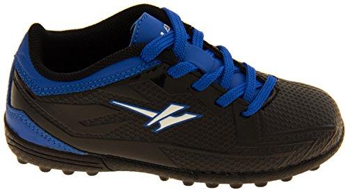 Footwear Studio , Chaussures de football pour garçon Noir noir Noir et Bleu