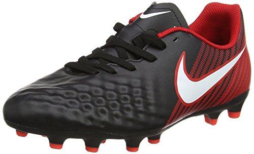 Nike Unisex-Kinder JR Magista Ola II FG Fußballschuhe, Schwarz (Black/White/University Red), 38 EU (Nike Amplify)