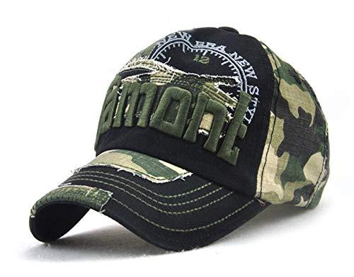 Camouflage Army Cap Herren Basecap Snapback Sport Outdoor Baseball Kappe ()
