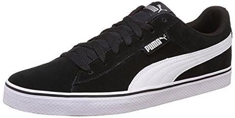 Puma 1948 Vulc - Chaussures d'Entrainement - Mixte Adulte - Noir (Black/White 04) - 44 EU (9.5 UK)