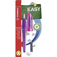 Handwriting Pen - STABILO EASYbuddy A nib Purple/Magenta