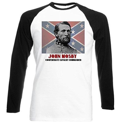 teesquare1st Men's John Mosby Black Long Sleeved T-shirt