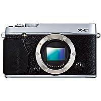 Fujifilm X-E1 Fotocamera Digitale 16 MP, Sensore CMOS X-Trans APS-C, Ottiche Intercambiabili, Mirino Ibrido, Solo (E1 Ibrida)