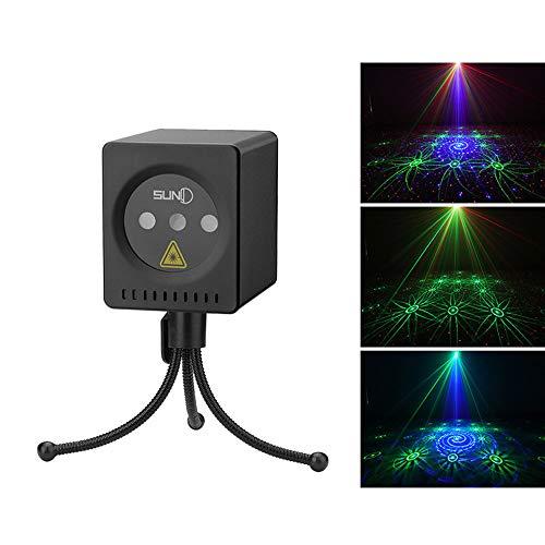 Disco-Lichter, Sterneffekt, RGB-Party-Beam-Lichter, Mini, Handgepäck, Wiederaufladbare 5000mah, Geeignet Für Dating/Camping -