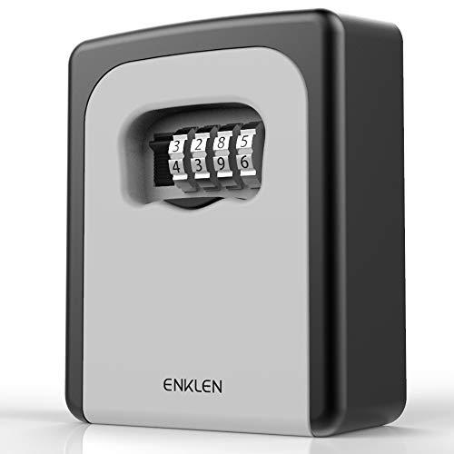 ENKLEN Cassetta di Sicurezza/Custodia per Chiavi per uso esterno, montaggio a parete, completo di fissaggi