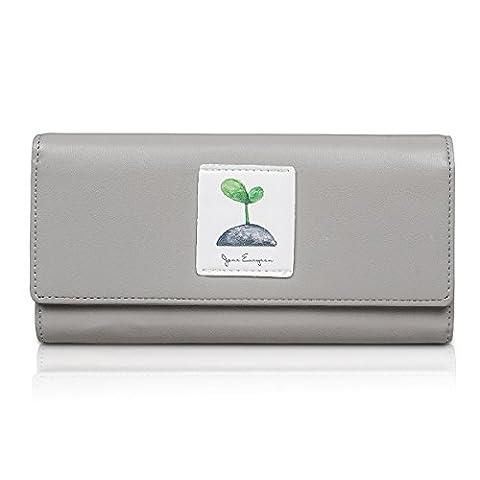Fency , Damen Damen-Geldbörse grau grau Lang