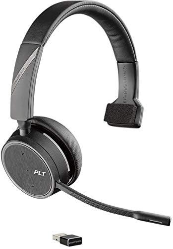 h Stereo-Headset Voyager 4210 UC Monaurale Tragevariante (mit USB-A) in Schwarz ()